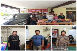 Diduga mencuri pakaian toko, 5 warga Deli Serdang - Medan diamankan Polres Tapsel