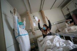 Hotel di China tempat karantina pasien COVID-19 ambruk