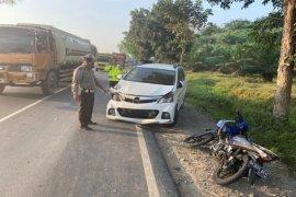 Sepeda motor kontra Avanza, satu tewas di Jalinsum Tebing Tinggi - Siantar