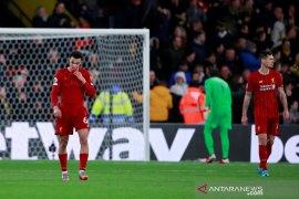 Liverpool telan kekalahan perdana