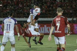 Laga Bali United melawan Persita Tangerang berakhir imbang tanpa gol