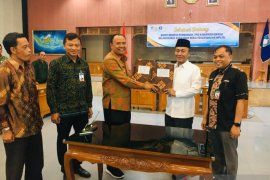 TPID Bangli dengan Lombok Barat kerja sama pemasaran dan distribusi pangan.