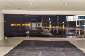 Lima bus RSPAD disiapkan angkut WNI ABK di Bandara Kertajati