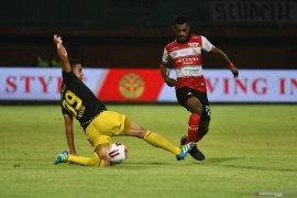 Madura United kalahkan Barito Putra