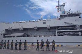 Lanal Denpasar dukung pergeseran KRI Teluk Bintuni-520 dari Benoa ke NTB