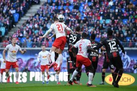 Leverkusen jegal upaya Leipzig dekati Bayern Muenchen