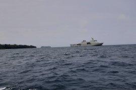 Pusat komando observasi Pulau Sebaru di KRI Semarang