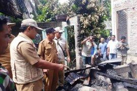 Satu unit rumah warga di Nagan Raya terbakar