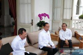 Presiden umumkan kasus infeksi corona pertama  di Indonesia