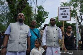 Ormas Islam di Medan gelar aksi di Konjen bela Muslim India
