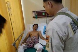 Rumah kos di Medan terbakar, satu orang alami luka bakar
