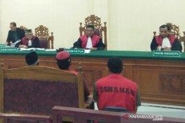 Hakim vonis empat terdakwa kasus narkoba 25 kilogram