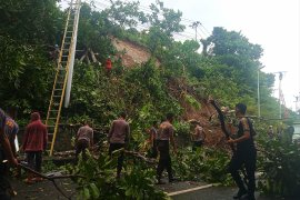 Dua pengendara tewas tertimbun longsor di Manokwari