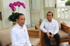 Presiden benarkan Ahok masuk bursa kepala badan otorita ibu kota