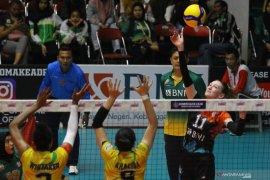 Tim putri Jakarta BNI 46 menang