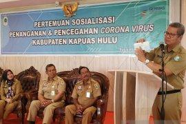 Tiga warga Kalbar terindikasi COVID-19 di karantina di dua RSUD