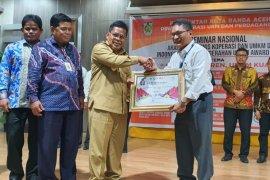 PLN Aceh terima Anugerah UMKM AWARD 2020 dari Walikota Banda Aceh