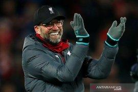 Liga Inggris: Klopp tertawakan anggapan Liverpool batal juara liga karena corona