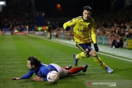 Gabriel Martinelli perpanjang kontrak di Arsenal