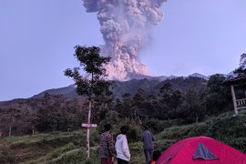 Erupsi Gunung Merapi masih tetap didominasi gas