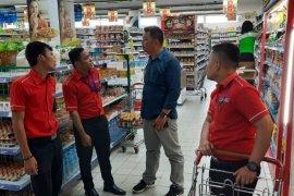 Polisi lakukan penggalangan ke swalayan pembatasan pembelian sembako