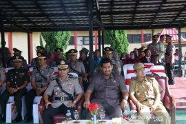 Ketua DPRD hadiri pelantikan bintara Polri