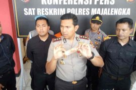 Polisi Majalengka amankan pengedar uang palsu bermodus dukun