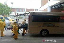 Pulang umrah, seorang pria dirujuk KKP ke RSMH Palembang