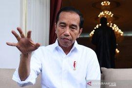 Presiden Jokowi beri kiat cegah penularan virus corona