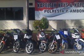 Polresta Pulau Ambon ciduk sembilan pelaku balap liar