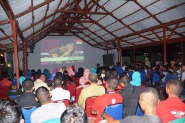 Prajurit Kodam Patimura sosialisasi bela negara di daerah terluar