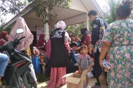 ACT Riau beri edukasi parenting dan distribusi pakaian bayi di Puskesmas Kampar