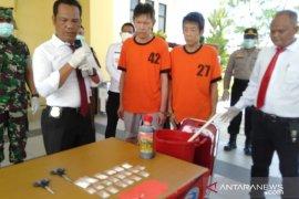 Polres Singkawang musnahkan narkoba dari WN Malaysia