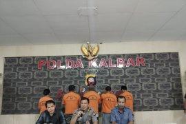 Polda Kalbar tetapkan lima tersangka kasus dana bantuan khusus Bengkayang