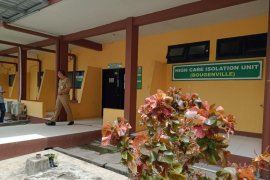 Ulin Hospital prepares a corona handling isolation building