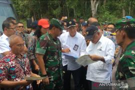 Panglima TNI dan Menteri PUPR tinjau lokasi bekas Vietnam