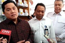 Sudah dicek Erick Thohir, stok masker dipastikan aman di seluruh apotek Kimia Farma