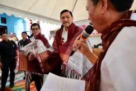 Luhut jamin pembangunan pariwisata tak akan rusak keaslian Desa Sigapiton