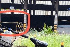 Lokasi penampungan batu bara Conch digaris polisi
