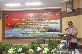 Polda Babel lestarikan budaya Melayu melalui lomba pantun