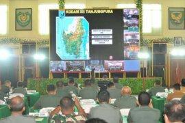TMMD Ke-107 akan dilakukan di tiga wilayah Kodam XII Tanjungpura