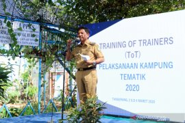 104 Lurah Tangerang dilatih pembentukan kampung tematik