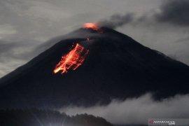 Aktivitas Gunung Semeru meningkat, masyarakat diimbau tetap tenang