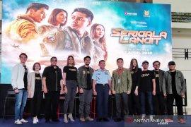 """Film """"Serigala Langit"""" siap tempur mulai 2 April"""