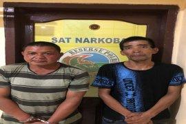 Dua tersangka pemilik narkotika diamankan Satresnarkoba Polres Binjai