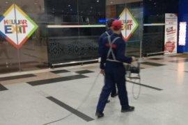 Bandara Kualanamu lakukan disenfeksi cegah virus corona