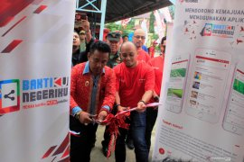 Telkomsel luncurkan digital center di Desa Bangun Rejo