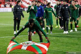 Athletic Bilbao mengunci posisi di final Piala Raja Spanyol