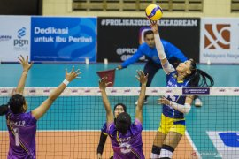 Proliga 2020: Gresik Petrokimia terpuruk, dilibas Bandung BJB 0-3