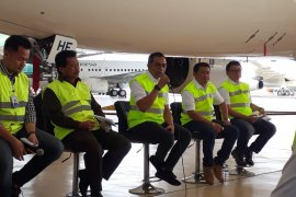GMF  disinfeksi puluhan pesawat Garuda Indonesia